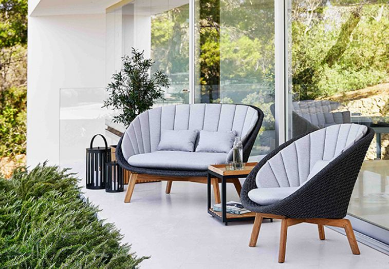 Peacock Loungesessel