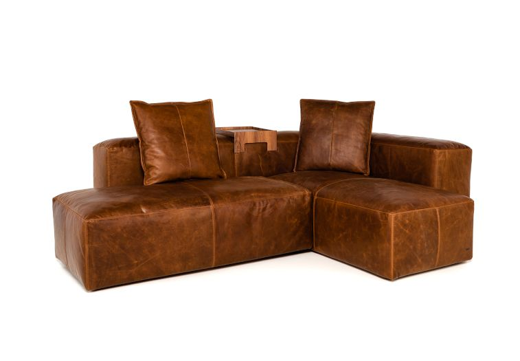 2-in1 Lounge Leder