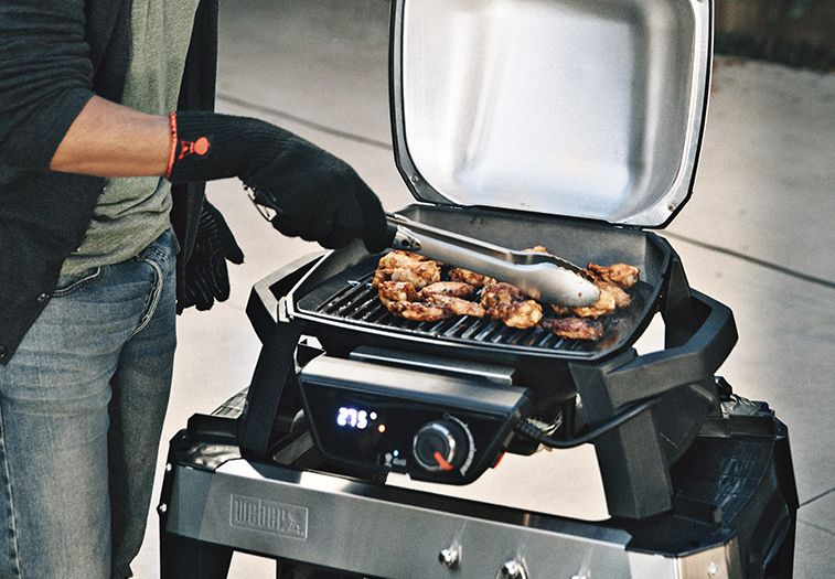 Weber Elektrogrill Pulse 2000 Zubehör : Pulse with stand