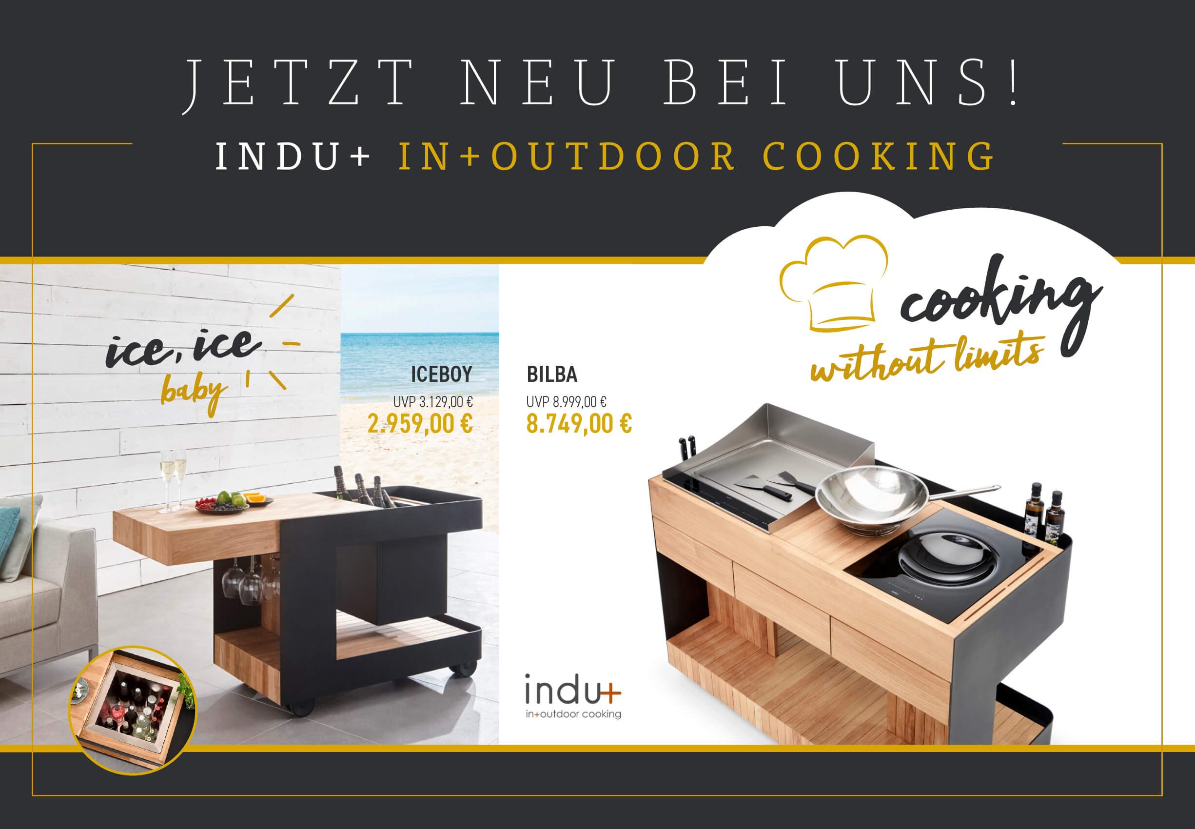 Indu+ In+Outdoor Cooking